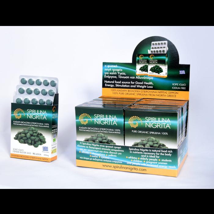 Spirulina Family pack standbox Tablets 1200